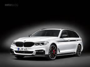 Bmw M Series Bmw M Performance Parts For The New Bmw 5 Series Touring
