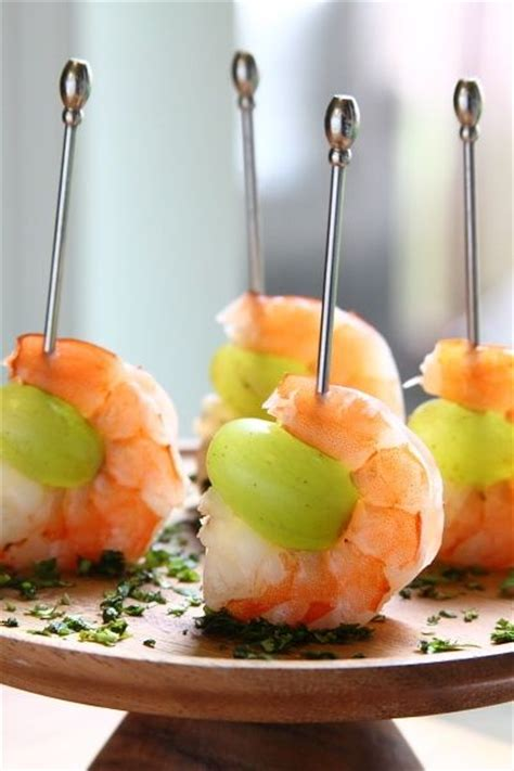 food and wine new year drunken grapes with wine poached shrimp food drink