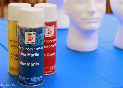 spray paint z foam foam cake pop holder play plan