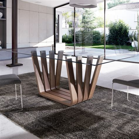 mesas de comedor modernas mesa de comedor moderna vicenza glass demarques