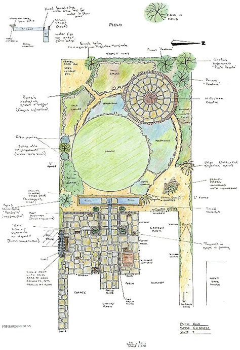 backyard plan top garden design plan a am a landscape designer pinterest