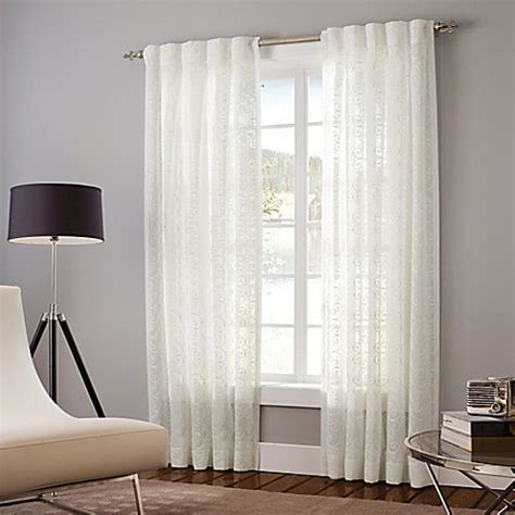 white backed curtains designer s select claudia back tab window curtain panel in