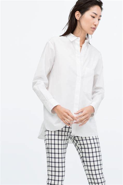 Zara White Shirt by Zara White Shirt Sparkleshinylove