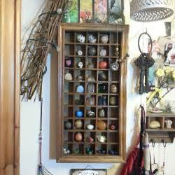 great idea to store crystals and stones use a printer