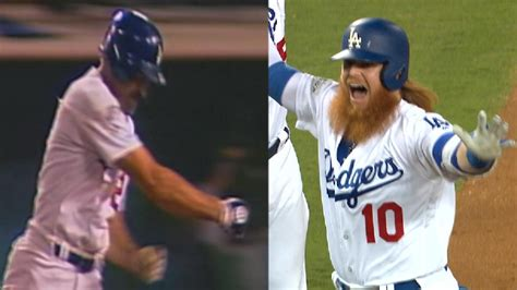 justin turner channels kirk gibson with homer mlb