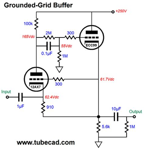 definition of resistor grid augmented buffers