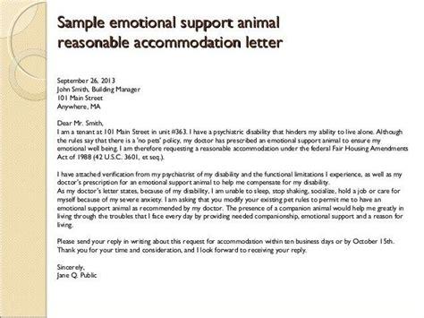 housing certification letter emotional support animal letter of prescription