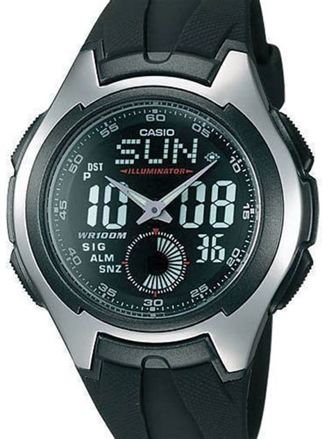 casio analog digital dual time with alarm and