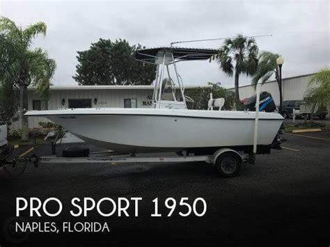 houseboats for sale naples florida for sale used 2001 pro sport 1950 in naples florida