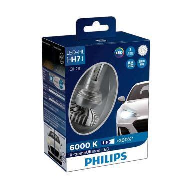 Lu Led Philips Untuk Mobil jual philips xtreme ultinon led h7 lu mobil 12v 24v