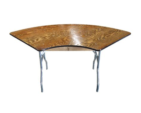 Serpentine Table by Table Rental Banquet Tables A To Z Rental