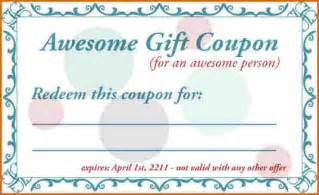 free coupon template 7 free coupon template authorizationletters org