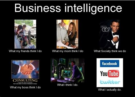 what do you think about business intelligence data and