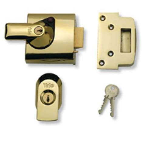 Yale Door Lock by Insurance Nightlatch Yale Lock In Brass From Cheshire