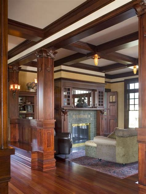 craftsman home interiors pictures craftsman interior home design ideas pictures remodel