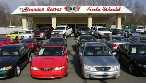 brandon reeves auto world car dealership in nc