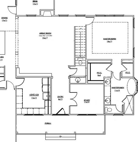 how to show stairs in a floor plan hidden staircase floor plans for raleigh nc new homes