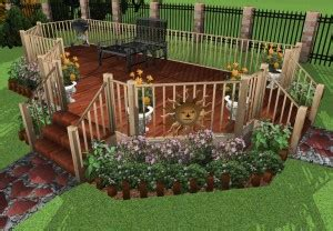 Punch Landscape Deck And Patio by Instant Deck And Patio Version 12 Deck Design And Ideas