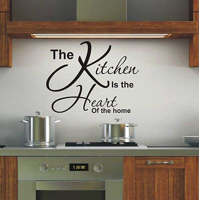 Kitchen Design Quotes Wall Design For Kitchen Walls Black Word Removable Wall Decals Kitchen Is Of