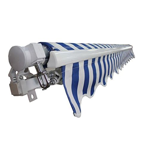 retractable awning accessories aleko awning fabric replacement 10x8 feet for retractable
