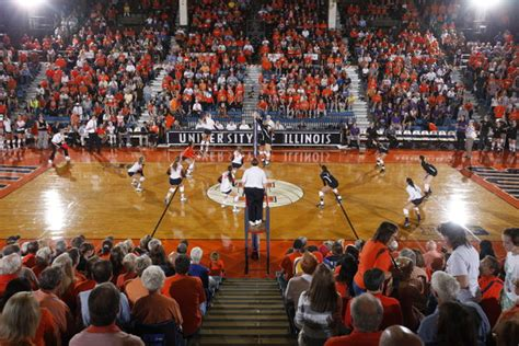 illinois student section student section q a part 2 spike squad the chaign room