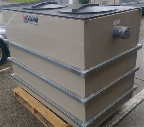 Grease Traps Commercial Kitchens Restaurant Equipment | used viking 1100litre grease trap grease interceptor