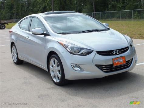 2013 shimmering air silver hyundai elantra limited 67430311 gtcarlot car color galleries