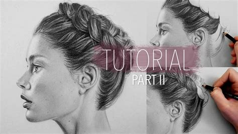 realistic plait hair styles how to draw realistic hair braid part 2 step by step