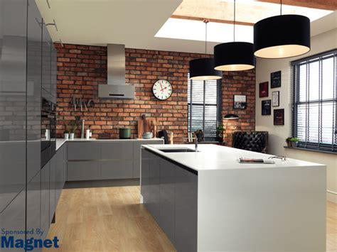 kitchen design magnet magnet kitchens reclaimed brick tile