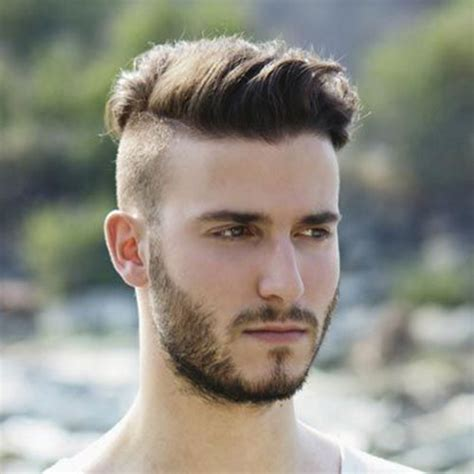 side shaved hair round face hairstyles for men with round faces hairstyles 2017 new
