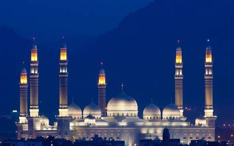 wallpaper biru masjid mosque full hd duvarkağıdı and arka plan 1920x1200 id