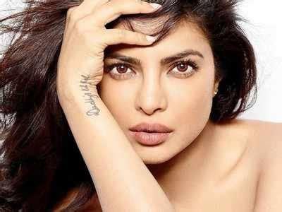 priyanka chopra tattoo on wrist what is priyanka chopra s what does it quora
