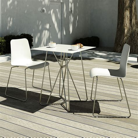 minimalist outdoor furniture viteo slim garden dining furniture luxury minimalist outdoor furniture