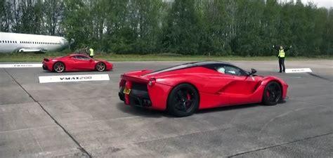 Lamborghini Aventador Vs Laferrari Laferrari Vs 458 Speciale Drag Races
