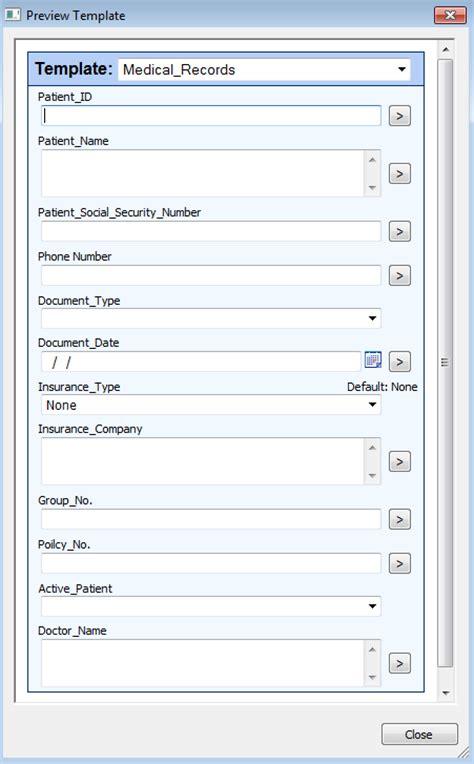 patient information sheet template fields regular expressions in laserfiche