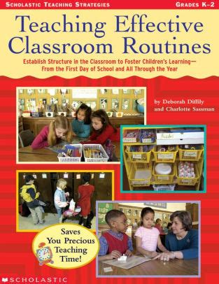 Effective Telephoning Teachers Book Original teaching effective classroom routines establish structure in the classroom to foster children s