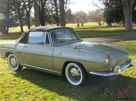 1964 renault caravelle great condition 1964 green renault caravelle coupe