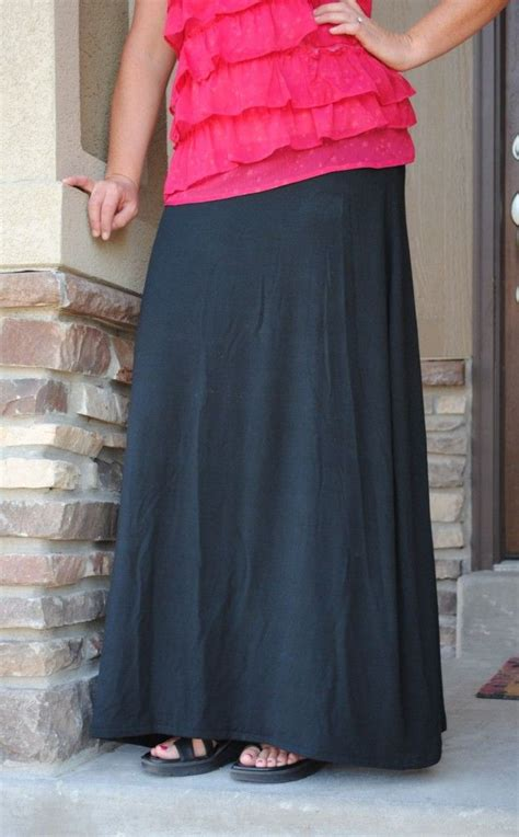 pattern for jersey maxi skirt sew your own maxi skirt it s easy