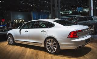 S90 Volvo 2018 Volvo S90 Stretches Out News Car And Driver