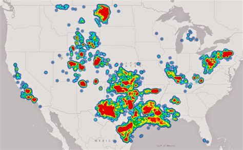 Superfund Map by Usa Map Of Oil Amp Gas Drilling Fracking Sites And Health