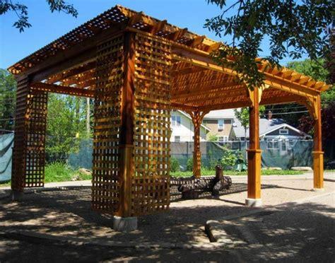 How To Build A Deck Nz by Pergolas De Madera Para El Jard 237 N M 225 S De Cincuenta Ideas