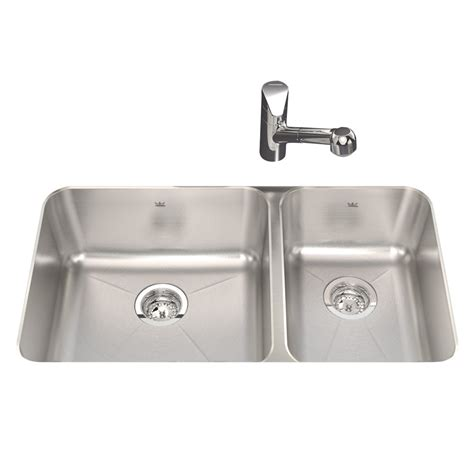 shop kindred silk basin undermount kitchen sink at