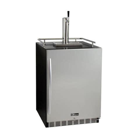kegco digital undercounter full size beer keg dispenser