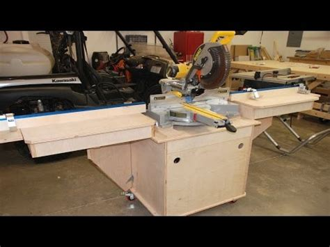 Popular Rotating Miter Saw Stand