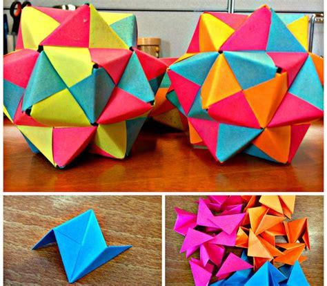 Origami Hedron - 309 best diy origami kusudama modular images on