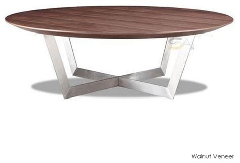 Dixon Coffee Table Walnut Veneer Modern Coffee Tables Walnut Veneer Coffee Table