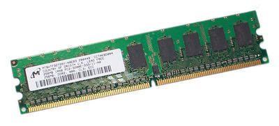 Ram Ddr2 6gb micron 6gb 12 x 512mb memory mt8htf6464ay 40eb3 200531 512mb ddr2 533 cl4