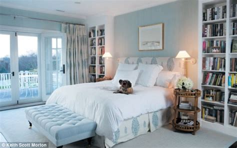 she wants baby blue on the walls i was thinking katie couric shows off her lavish htons home daily