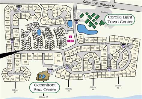 corolla light resort map corolla light places i ve been