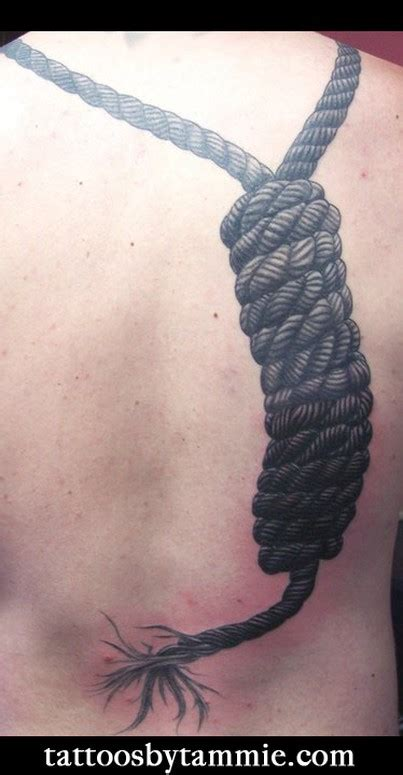 noose tattoo broken free from the noose tattoos